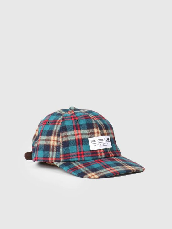 The Quiet Life Flannel Unstructured Snapback Hat Plaid 18FAD2-2199-PLD