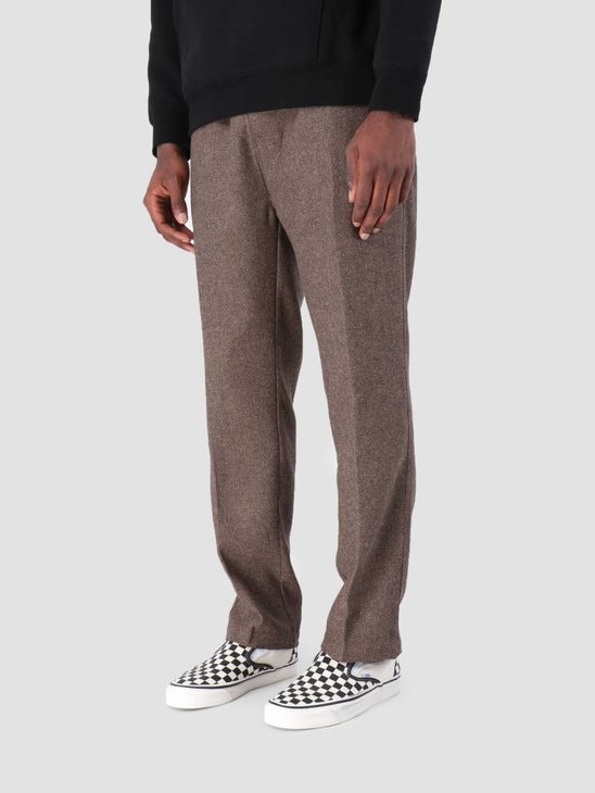 Stussy Tweed Beach Pant Pant Brown 1001