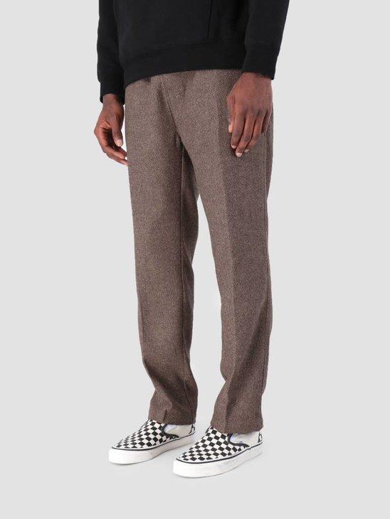 Stussy Tweed Beach Pant Pant Brown 1001