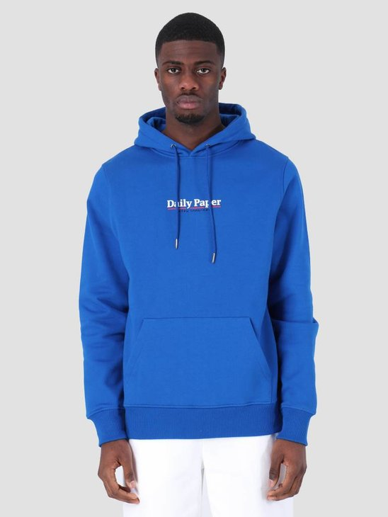Daily Paper SS19 Essential Hoodie Blue 19S1HD08-02