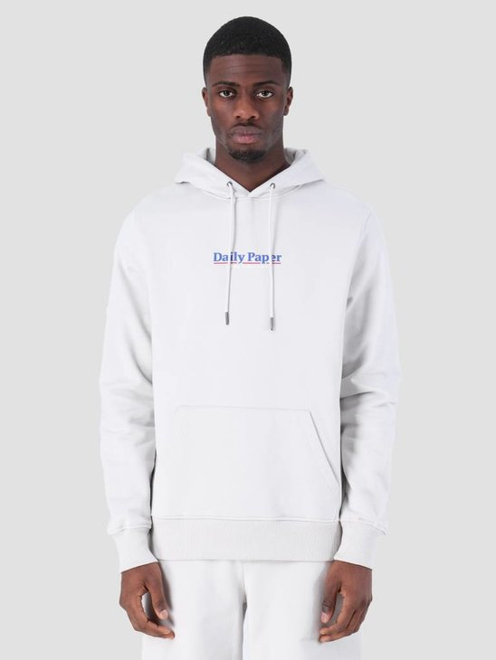 Daily Paper SS19 Essential Hoodie Light Grey 19S1HD08-03