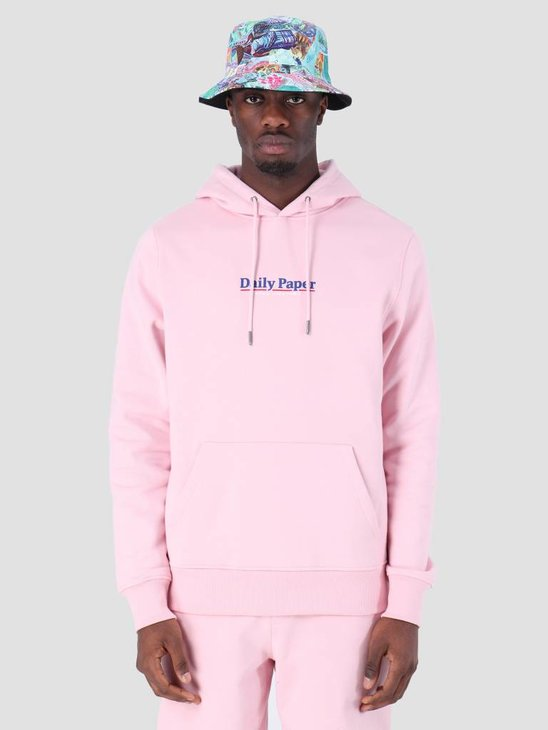 Daily Paper SS19 Essential Hoodie Light Pink 19S1HD08-04