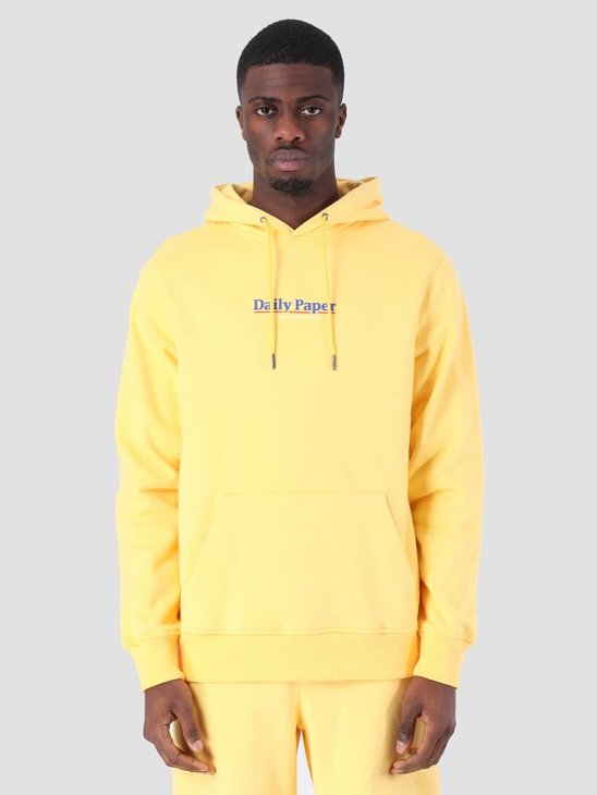 Daily Paper SS19 Essential Hoodie Light Yellow 19S1HD08-05