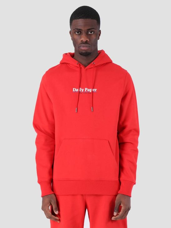 Daily Paper SS19 Essential Hoodie Red 19S1HD08-01
