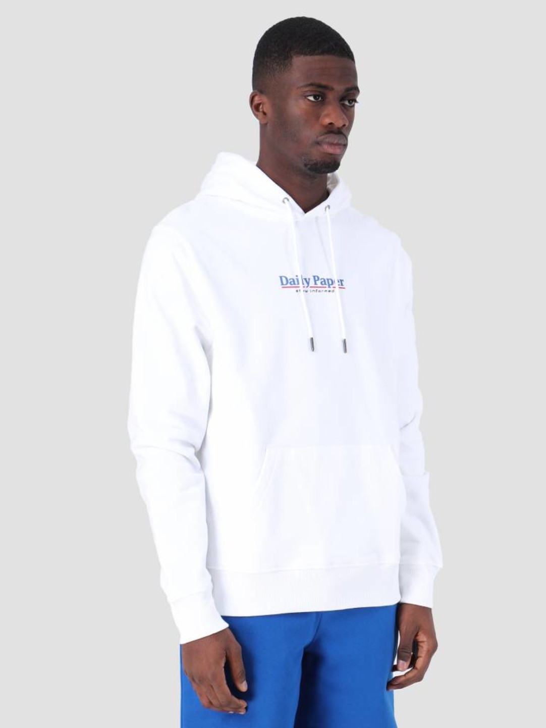 Daily Paper Daily Paper SS19 Essential Hoodie White 19S1HD08-07