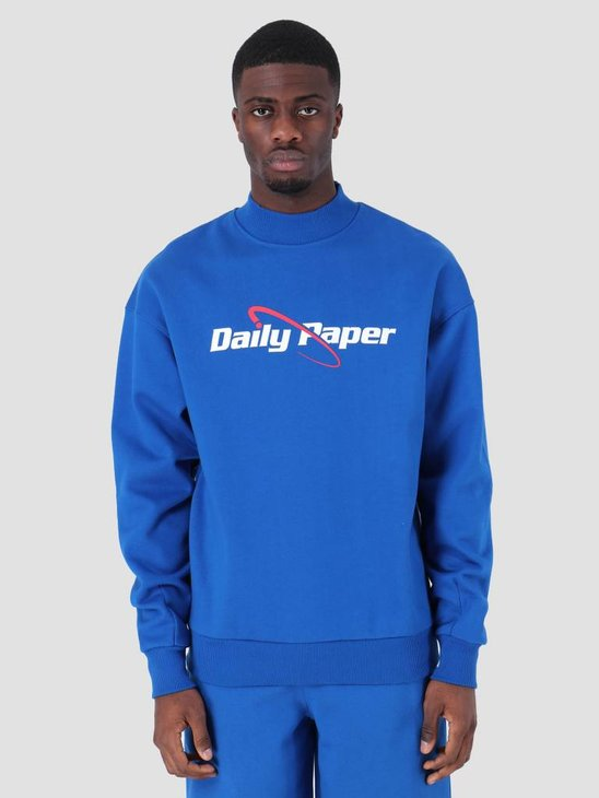 Daily Paper SS19 Essential Sweater Blue 19S1SW04-02