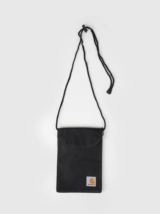 Carhartt WIP Collins Neck Pouch Black I020835