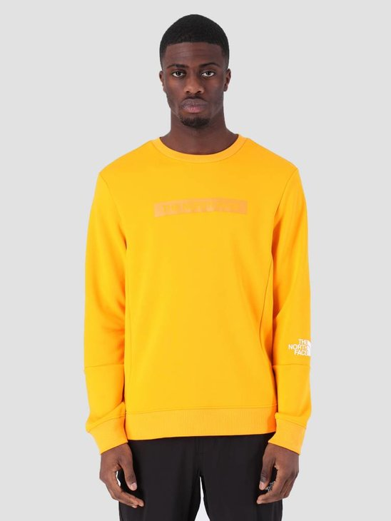 The North Face Lht Crew Zinnia Orange T93RYDH6G