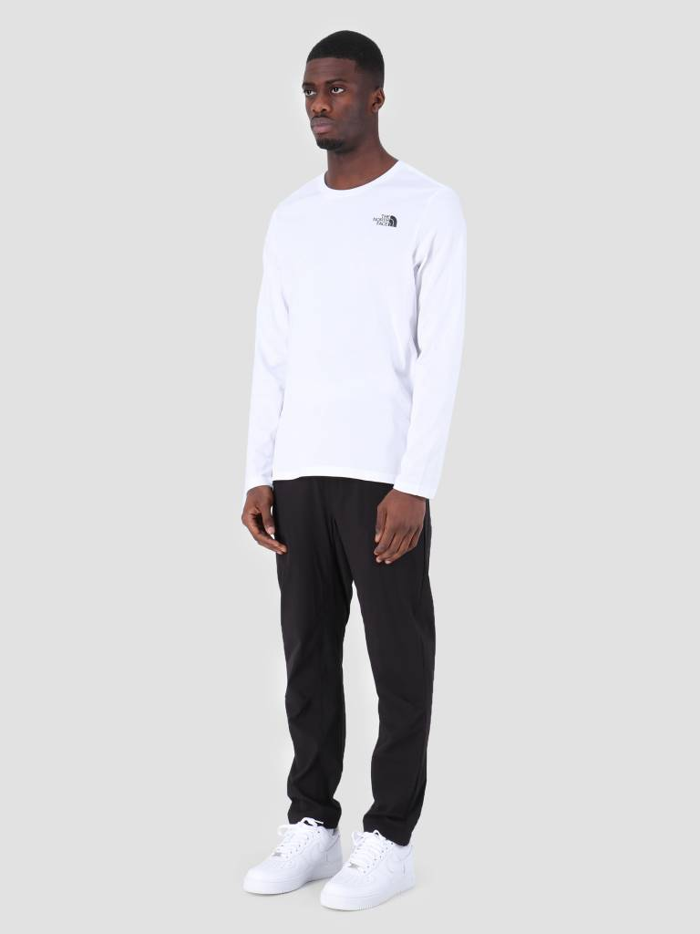 The North Face The North Face Easy Longsleeve TNF White T92TX1FN4