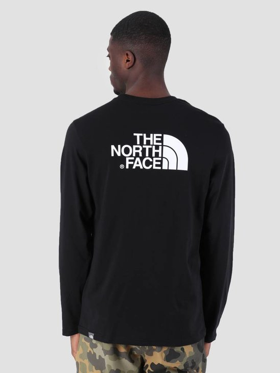 The North Face Easy Longsleeve TNF Black T92TX1JK3