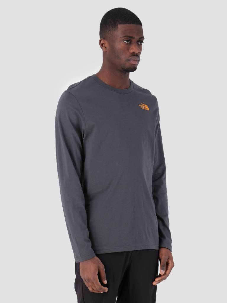 The North Face The North Face Easy Longsleeve Asphgy Citrinyw T92TX1LCW