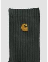 Carhartt WIP Carhartt WIP Chase Socks Bottle Green Gold I026527