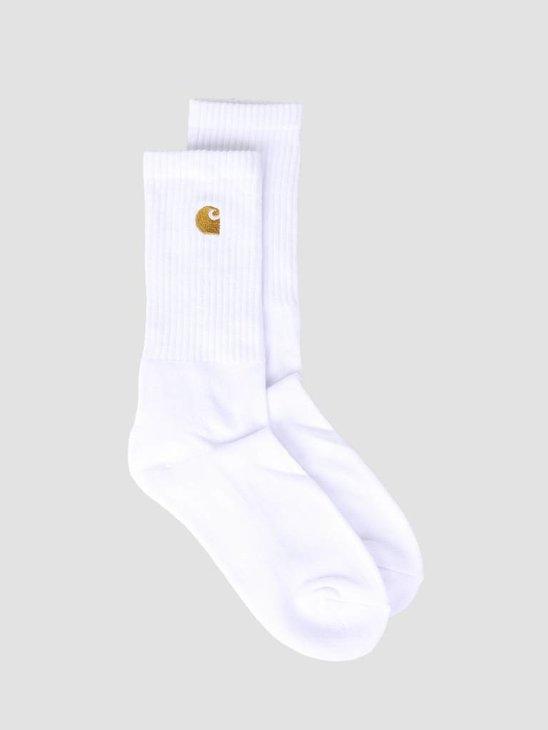 Carhartt Chase Socks White Gold