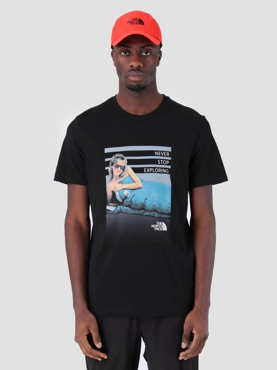 The North Face Cel Easy T-Shirt TNF Black T93BQPJK3