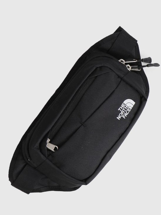 The North Face Bozer Hip Pack II TNF Black High Rise Grey T92UCXC4V