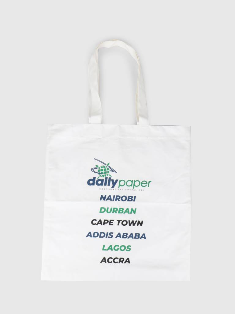 Daily Paper Daily Paper Fonty Bag White 19S1AC21-01