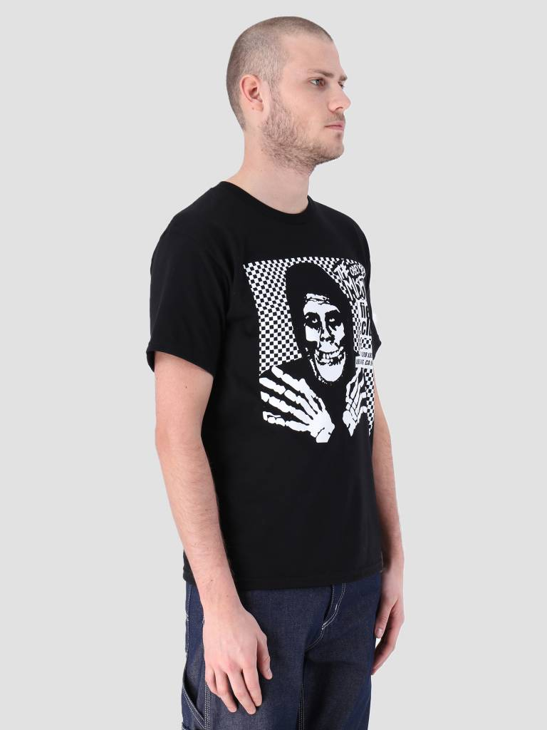 Obey Obey Misfits Fiend Club Hallow Basic T-Shirt Black 163082055
