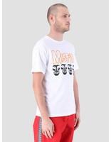 Obey Obey Misfits Fiend Skulls T-Shirt White 163082053