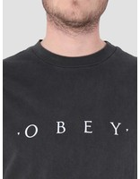 Obey Obey Novel Obey Longsleeve T-shirt Dusty Black 166731578 Dba