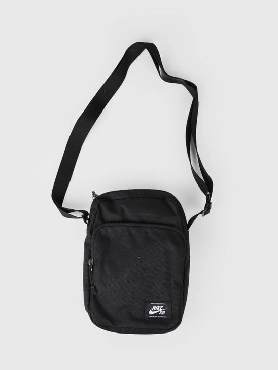 Nike SB Heritage Bag Black Black White Ba5850-010