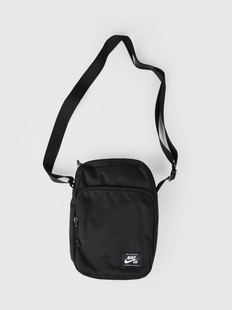 6d967b02e3c6 Nike SB Heritage Bag Black Black White Ba5850-010 - FRESHCOTTON