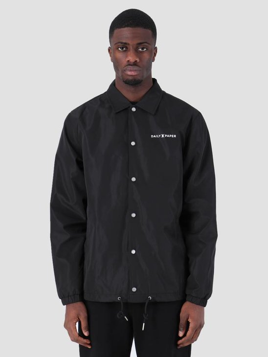Daily Paper SS19 Essential Coach Jacket Black 19S1OU22-02