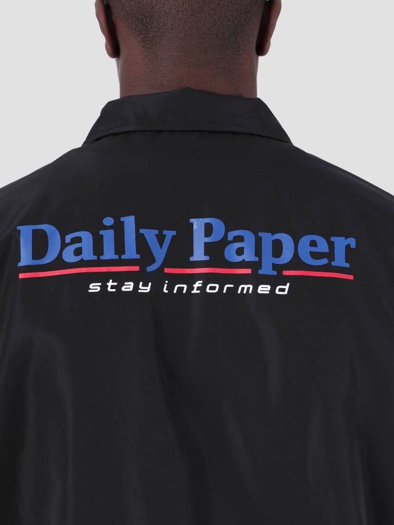 Daily Paper Daily Paper SS19 Essential Coach Jacket Black 19S1OU22-02
