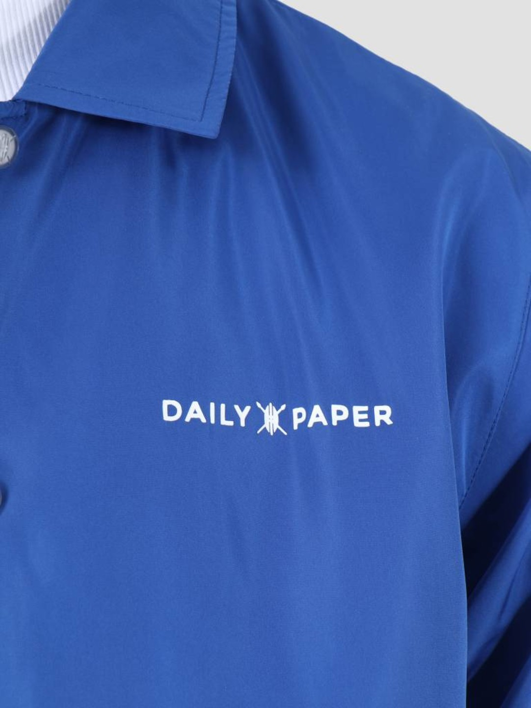 Daily Paper Daily Paper SS19 Essential Coach Jacket Blue 19S1OU22-03