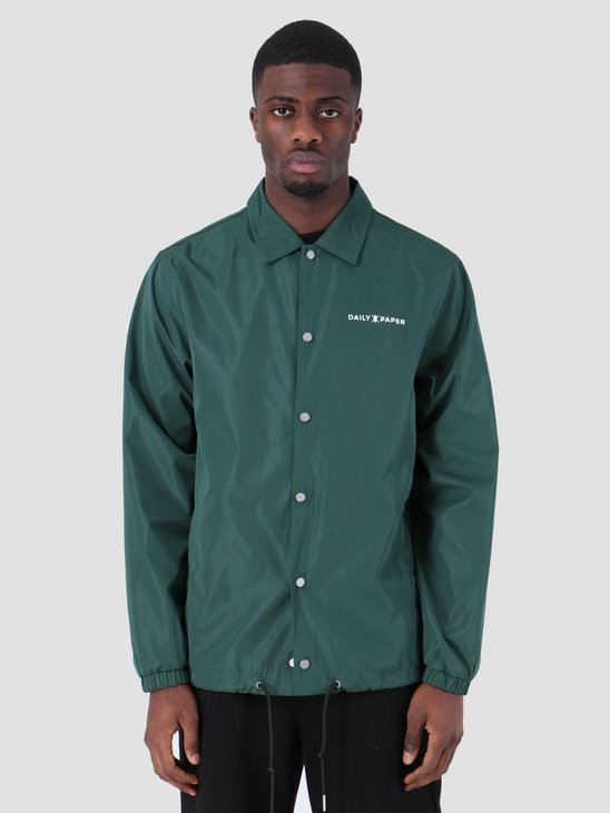 Daily Paper SS19 Essential Coach Jacket Dark Green 19S1OU22-04