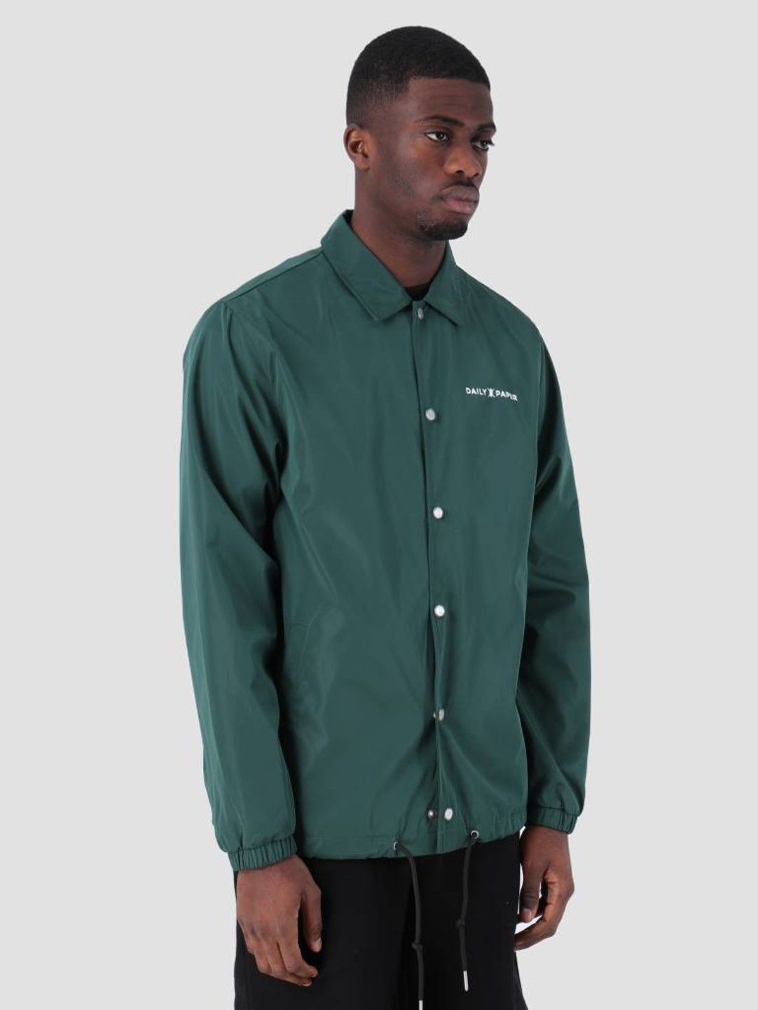 Daily Paper Daily Paper SS19 Essential Coach Jacket Dark Green 19S1OU22-04