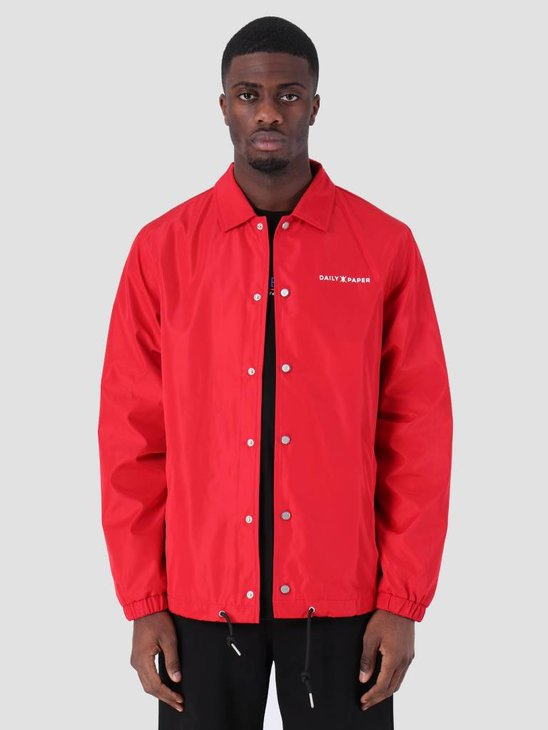 Daily Paper SS19 Essential Coach Jacket Red 19S1OU22-01