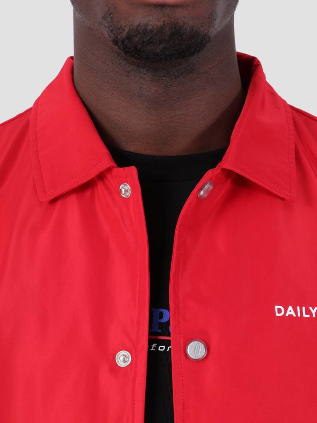 Daily Paper Daily Paper SS19 Essential Coach Jacket Red 19S1OU22-01
