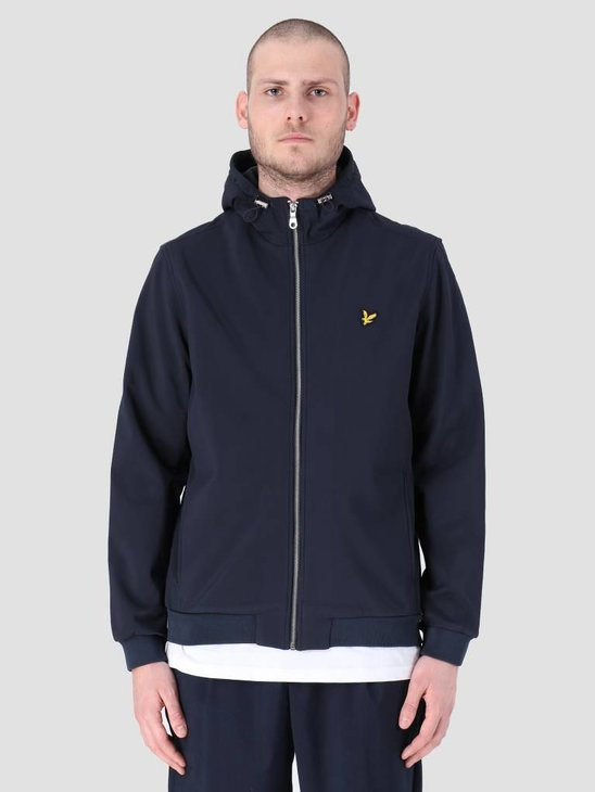 Lyle and Scott Softshell Jacket Dark Navy JK903V