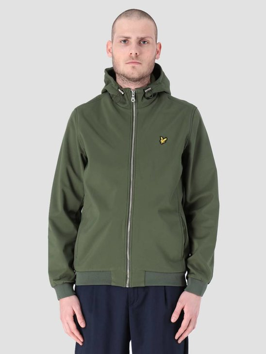 Lyle and Scott Softshell Jacket Woodland Green JK903V