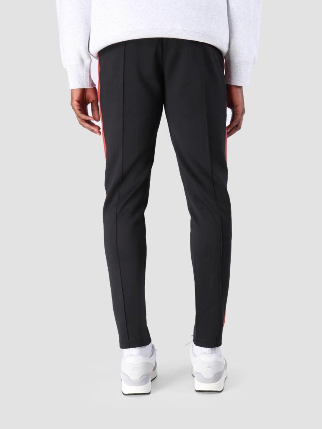Les Deux Les Deux Hermite Track Pants Black Brick Red LDM530002