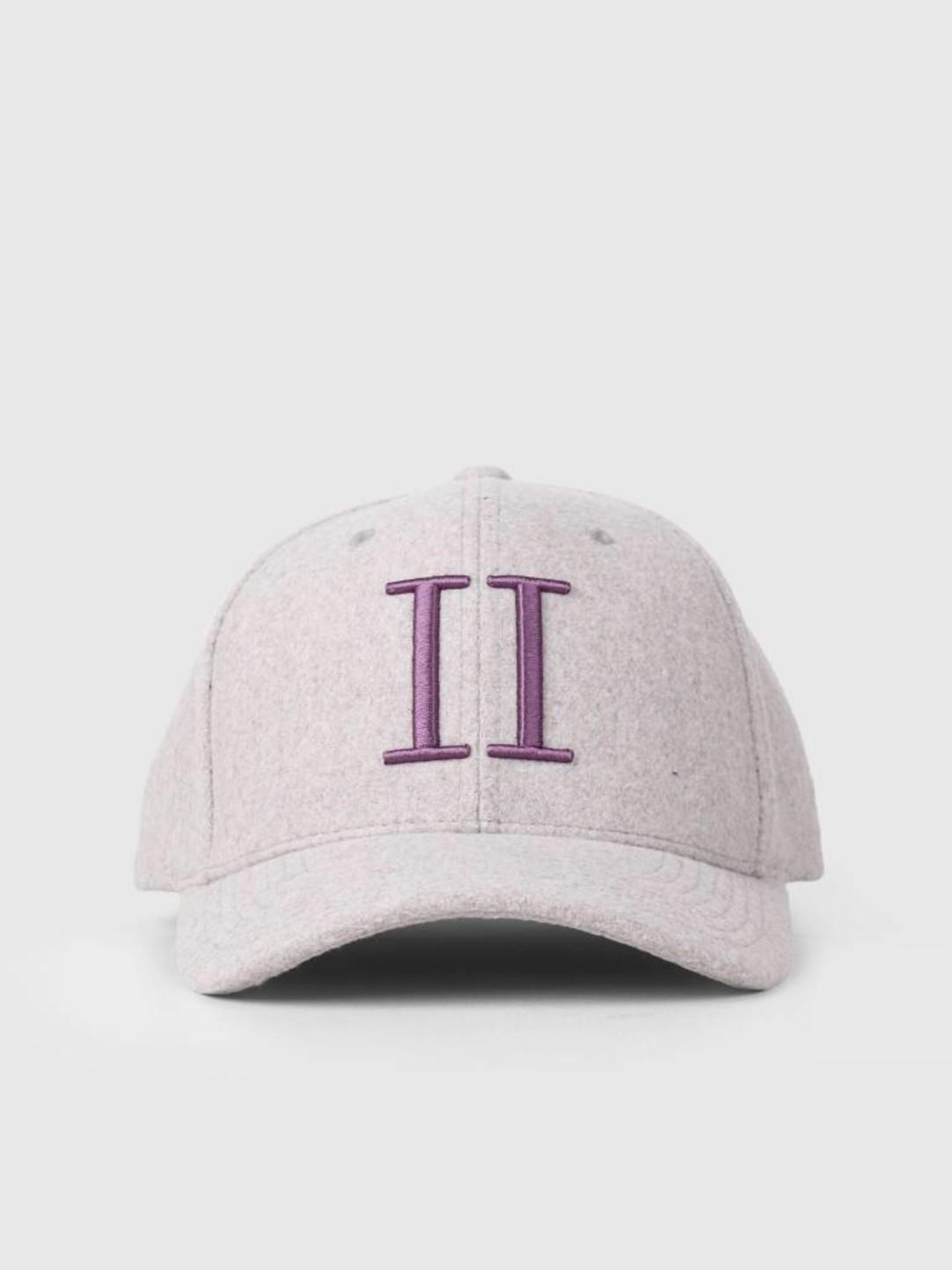 Les Deux Les Deux Weaved 3D II Baseball Cap Light Purple Dark Purple LDM702019