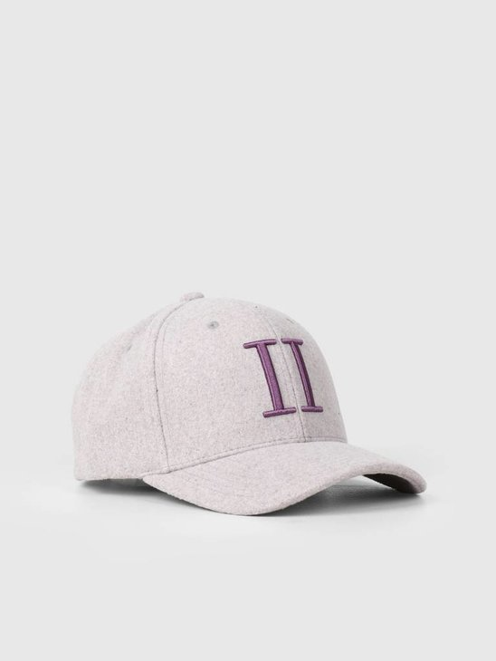Les Deux Weaved 3D II Baseball Cap Light Purple Dark Purple LDM702019