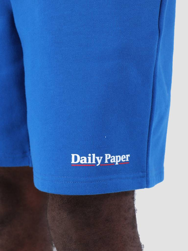 Daily Paper Daily Paper SS19 Essential Fleece Short Blue 19S1SH07-02