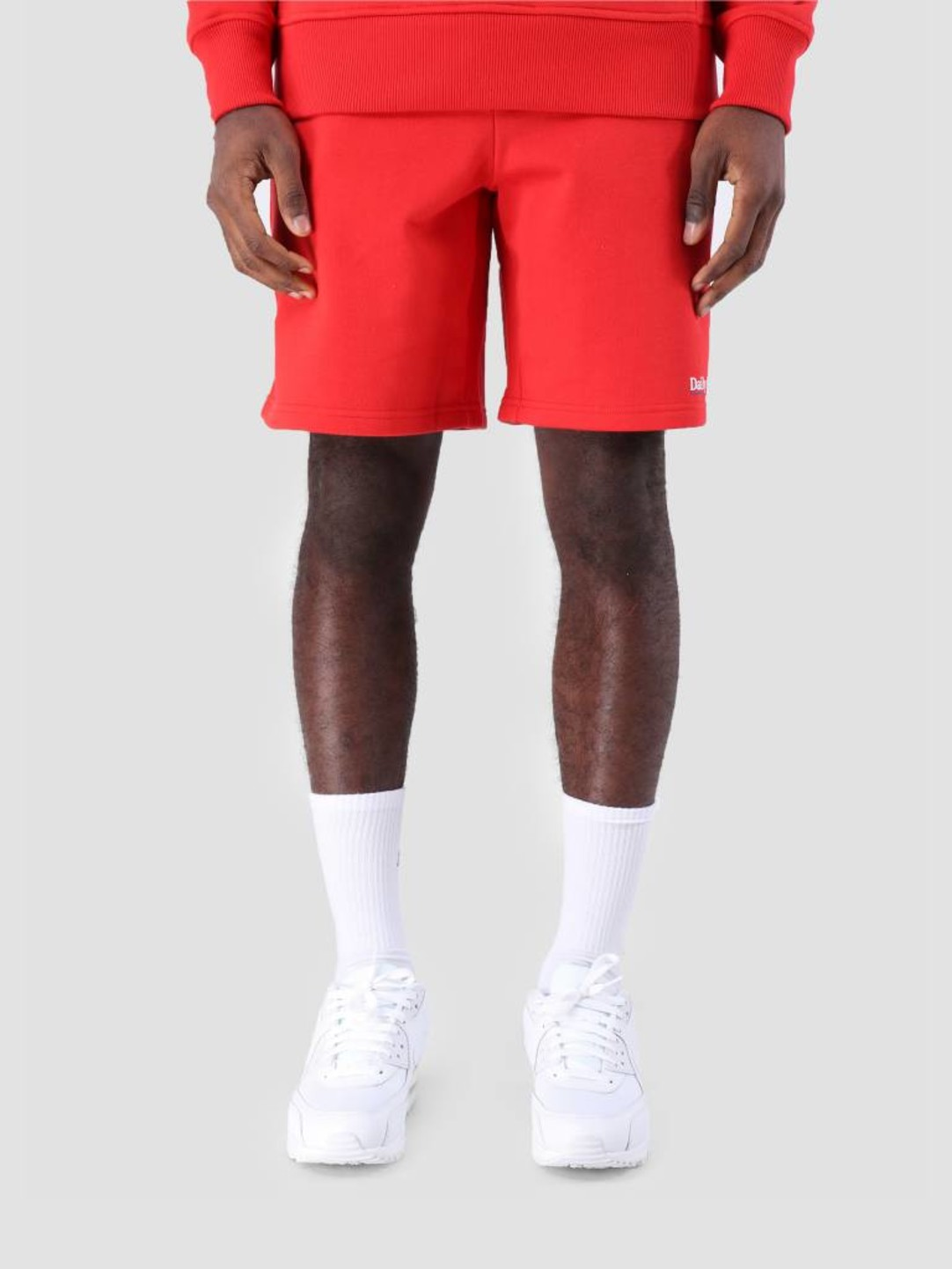 Daily Paper Daily Paper SS19 Essential Fleece Short Red 19S1SH07-01