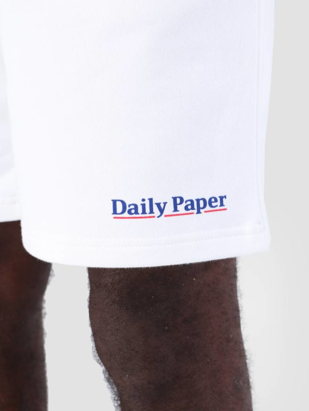 Daily Paper Daily Paper SS19 Essential Fleece Short White 19S1SH07-07