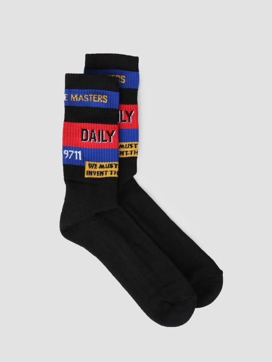 Daily Paper Fad Sock Black 19S1AC45-02