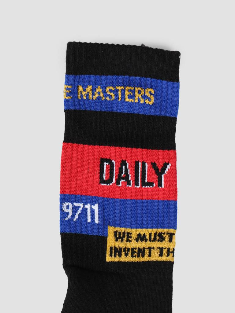 Daily Paper Daily Paper Fad Sock Black 19S1AC45-02