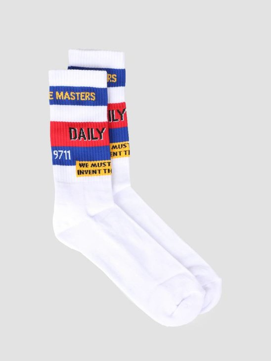 Daily Paper Fad Sock White 19S1AC45-01