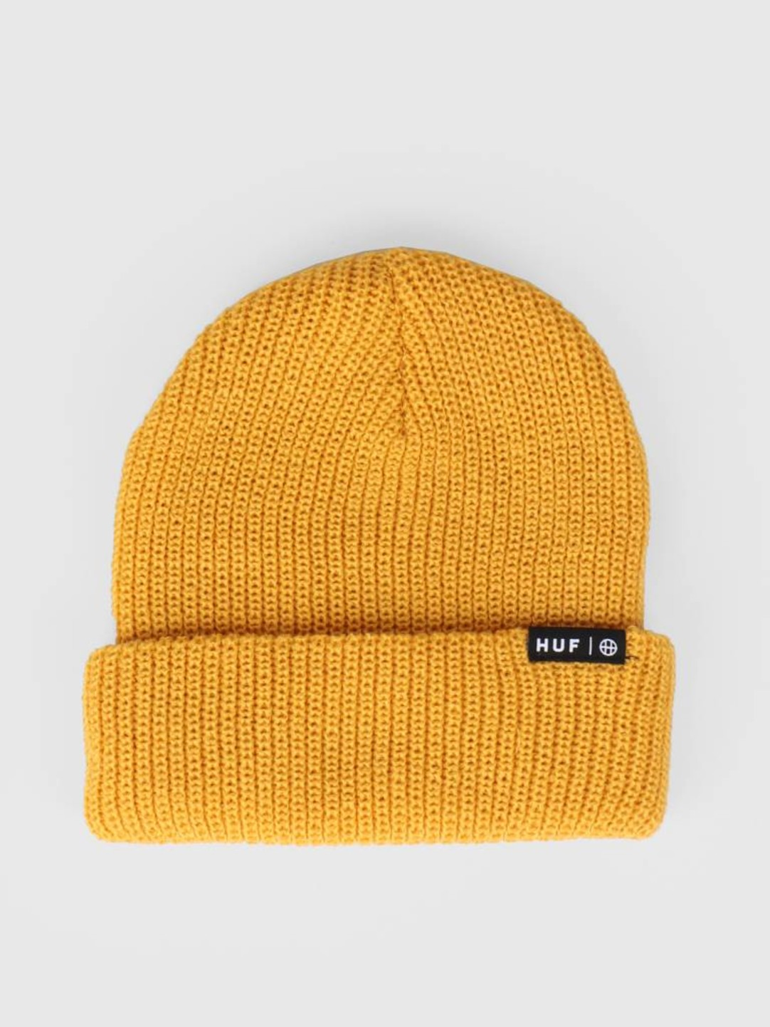 HUF HUF Usual Beanie Mineral Yellow BN00055