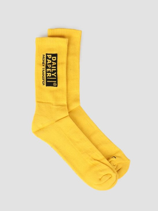Daily Paper Foney Sock Warm Yellow 19S1AC05-01