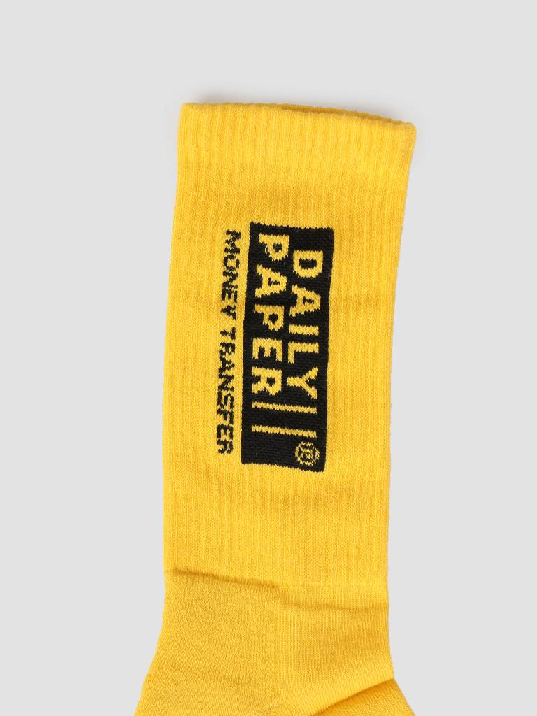 Daily Paper Daily Paper Foney Sock Warm Yellow 19S1AC05-01