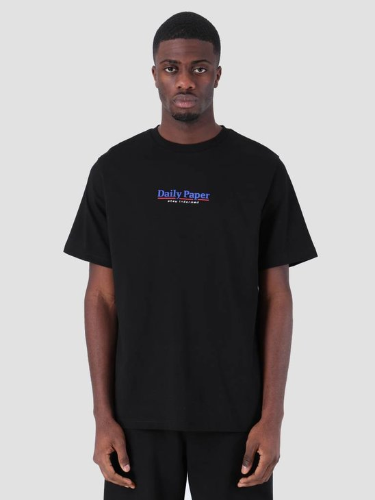 Daily Paper SS19 Essential T-Shirt Black 19S1TS18-06
