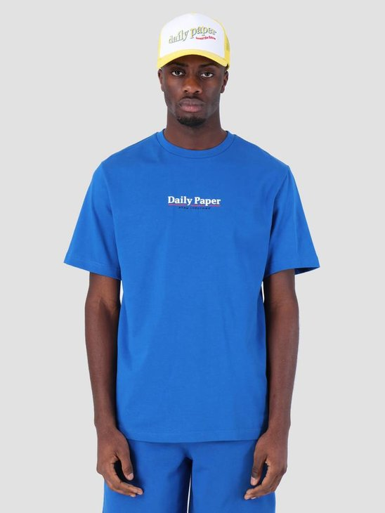 Daily Paper SS19 Essential T-Shirt Blue 19S1TS18-02