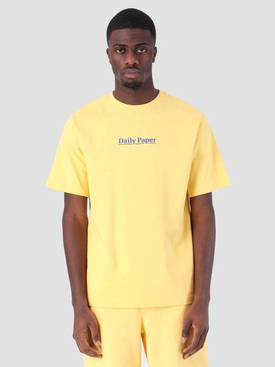 Daily Paper SS19 Essential T-Shirt Light Yellow 19S1TS18-05