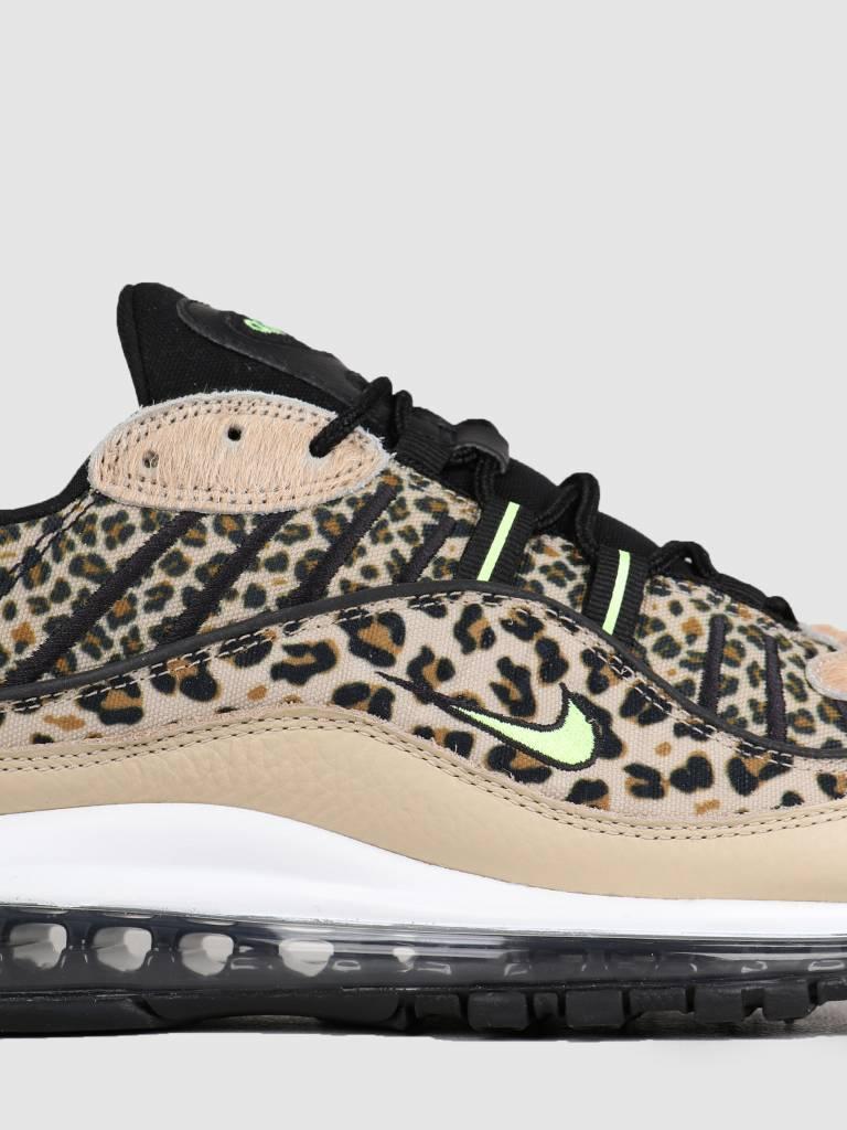 Nike Nike Air Max 98 Premium Desert Ore Volt Glow Black Wheat Bv1978-200